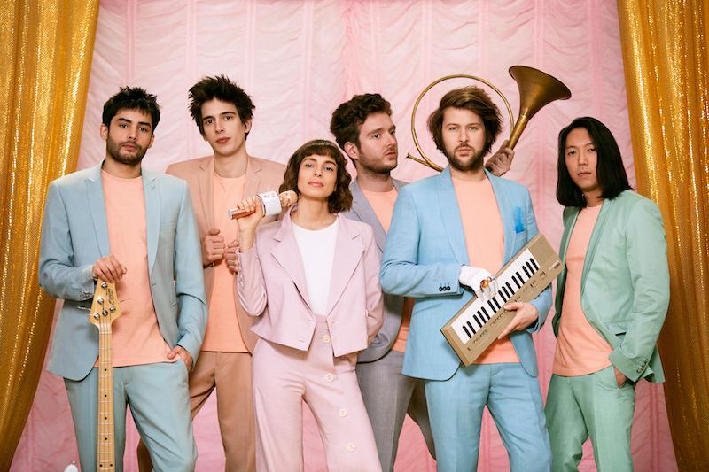 フランスのディスコ・バンドL'Impératrice、2nd AL「Tako Tsubo」を3月26日にリリース!
