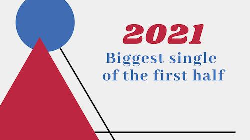 2021年上半期シングル・チャートが発表!注目曲をピックアップ!